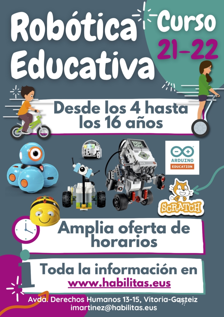 Robótica Educativa Habilitas 21-22